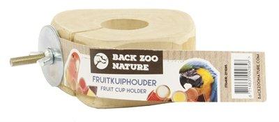 Back zoo nature fruitkuipje houder met schroef