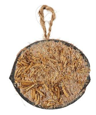 Zolux halve kokosnoot met vet en meelwormen