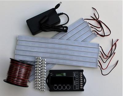 Compleet set ledverlichting 10 strips incl (automatische) dimmer