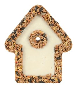 Zolux huisje van vet met zaden