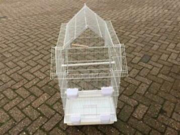 Mooie nieuwe ruime, complete en hoge vogelkooi voor kanaries, tropen en parkieten kopen?